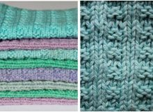 bright 'n pretty knitted dishcloths | the knitting space