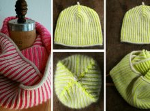c225ab38412 Knitted Brioche Hat And Cowl  FREE Knitting Pattern