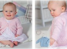 bubble baby knitted cardigan | the knitting space