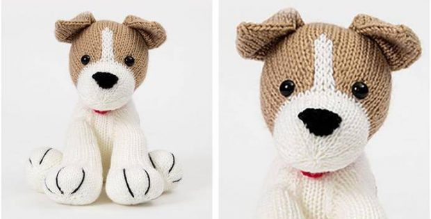Bubbly Buster Knitted Jack Russell Free Knitting Pattern