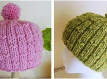 bubbly bamboo knitted hat | the knitting space