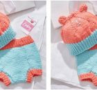 bubbly bear knitted baby essentials | the knitting space