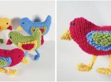 busy birds knitted ornaments | the knitting space