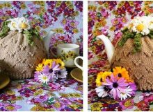 camomile lawn knitted tea cozy | the knitting space