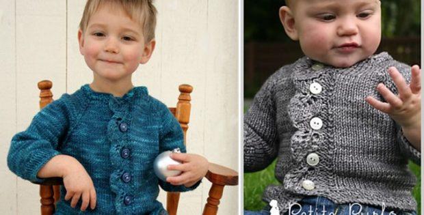 Cascade Knitted Cardigan Free Knitting Pattern