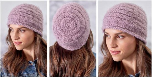 e8952482fd4 Charmingly Cozy Knitted Hat  FREE Knitting Pattern