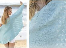 Cinderella knitted lace shawl | the knitting space