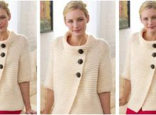 classy knitted rib cardigan | the knitting space