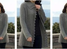 climbing lace knitted cardigan | the knitting space