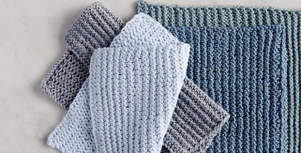 Close Knit Dishcloth Free Pattern