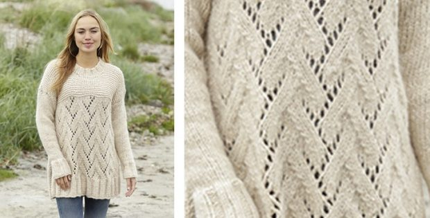 Cloud knitted sweater | the knitting space