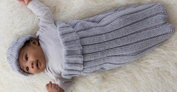 Comfy Knitted Cocoon And Cap Free Knitting Pattern