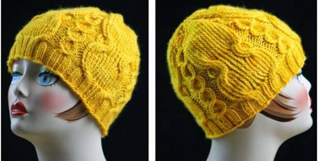 coin & medallion knitted hat | the knitting space