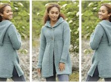 comfy Aredhel knitted jacket | the knitting space