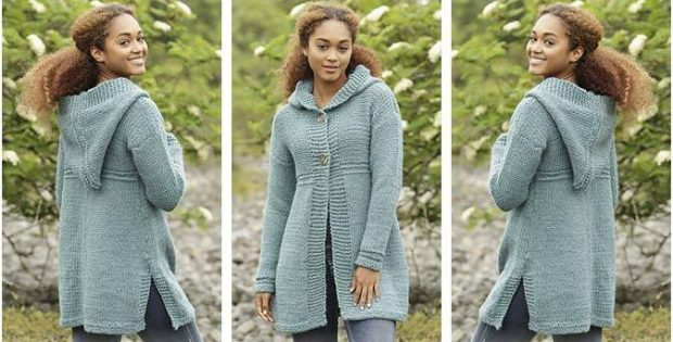Comfy Aredhel Knitted Jacket Free Knitting Pattern