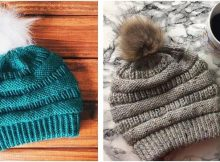 copy cat cc knitted slouchy beanie | the knitting space