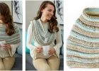 cozy shoulders knitted poncho   the knitting space