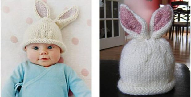 Stunning Knitting Pattern for Bunny Ears Hat