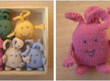 cute 'n cuddly knitted plumps | the knitting space