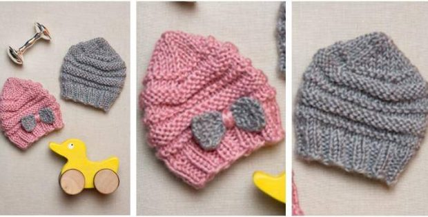 4e546b77f closeout how to knit a preemie baby hat 3e6d9 4e0b0