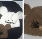 cute rat knitted baby hat | the knitting space