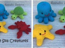 cutesome knitted sea creatures | the knitting space