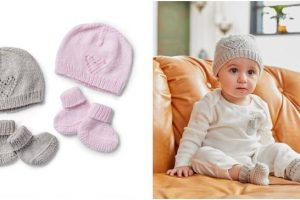 cutie knitted baby warmers | the knitting space