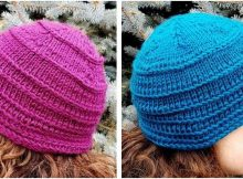dandy knitted braid winter cap | the knitting space