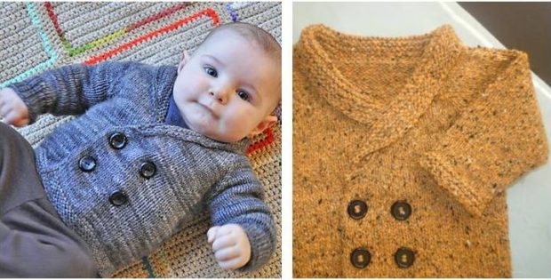 dapper Henry knitted sweater | the knitting space