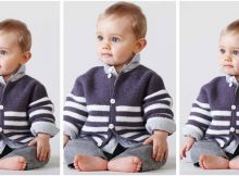 dapper knitted baby jacket | the knitting space