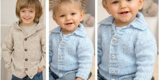dapper knitted kiddie jacket | the knitting space