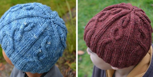 Declans Knitted Cable Hat Free Knitting Pattern