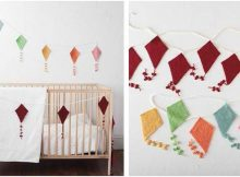 delightful kite knitted bunting | the knitting space