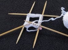 knitting using double pointed needles | the knitting space