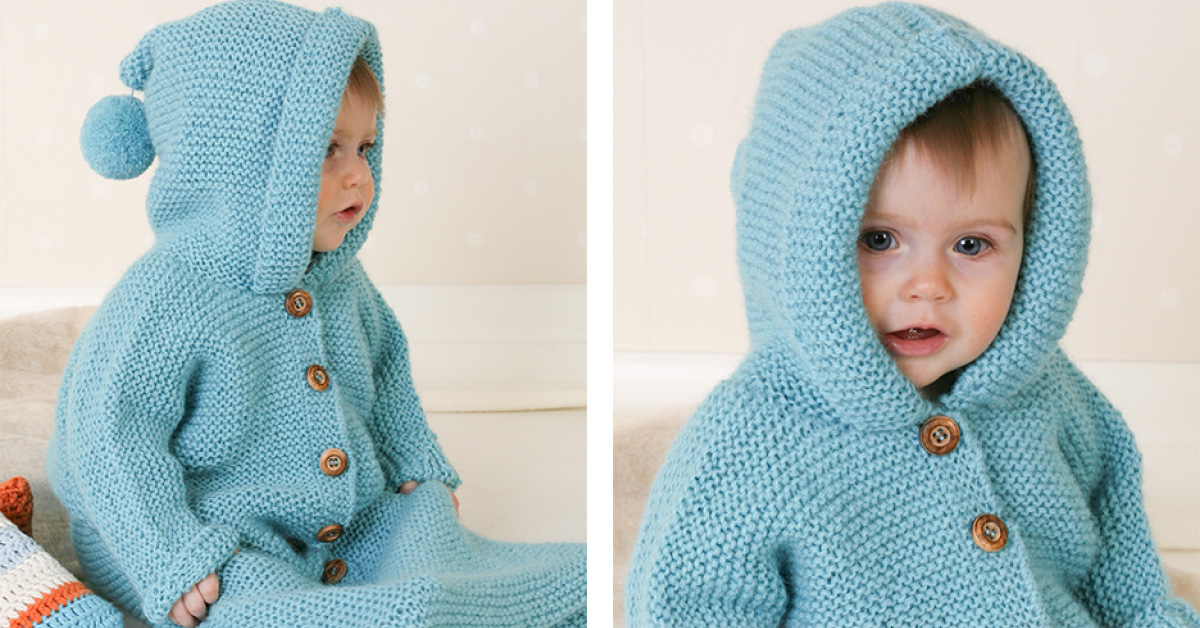 Dreamy Bluebell Knitted Baby Bunting Bag [FREE Knitting ...