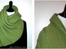 dropped 'n found knitted wrap | the knitting space