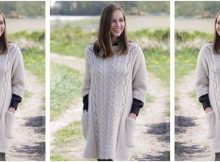 elegant comfort knitted sweater | the knitting space