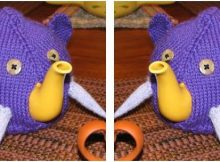 elephant knitted tea cozy | the knitting space