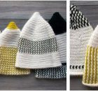 elfin knitted reversible hats | the knitting space