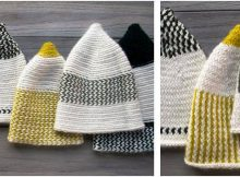 elfin knitted reversible hats   the knitting space