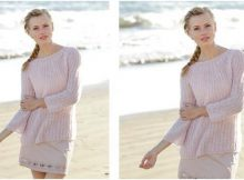lovely emmelie knitted sweater | the knitting space