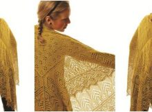 enchanting Cypress knitted shawl | the knitting space
