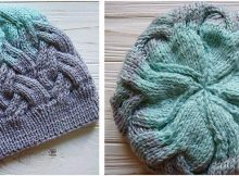 enchanting knitted cable hat | the knitting space