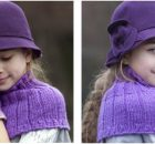 enchanting knitted girls' warmers | the knitting space