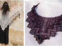 enthralling Aeolian knitted shawl | the knitting space