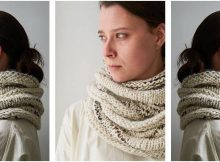 enthralling syncopated knitted cowl | the knitting space