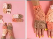 essential knitted wrist warmers | the knitting space