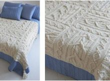 exquisite knitted Erin afghan | the knitting space