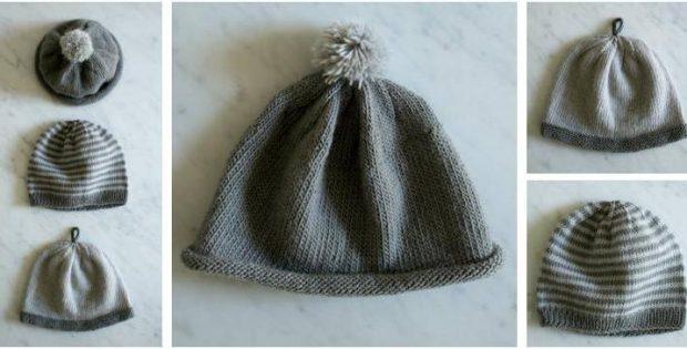 Extraordinary Knitted Newborn Hats Free Knitting Pattern
