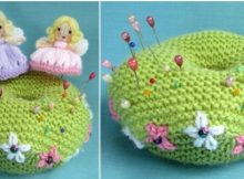 knitted fairy pin | the knitting space